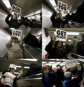 High Five Escalator